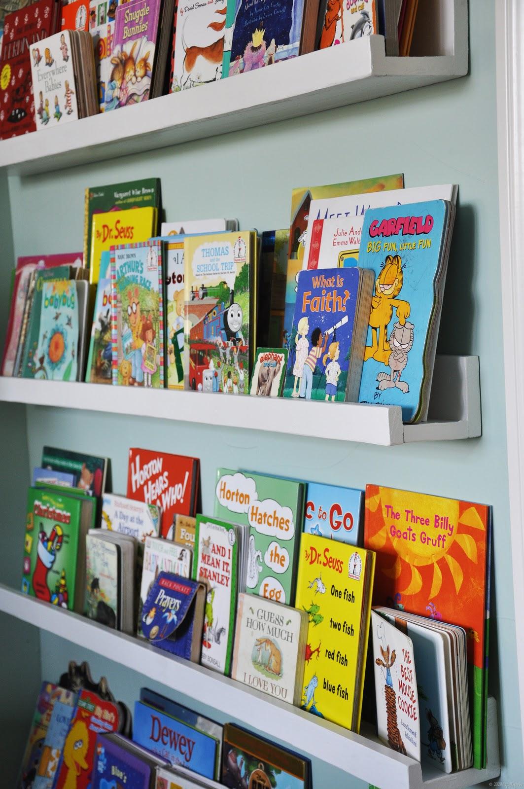 100 Toddler Bookshelves