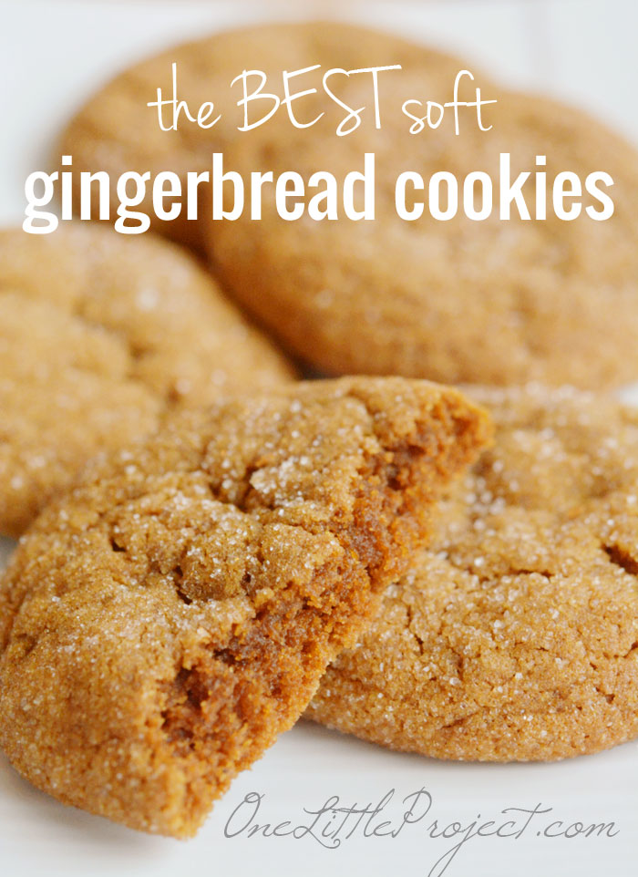 Christmas Gingerbread Cookies Recipe.Big Soft Ginger Cookies