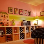 pink-green-black-girls-room2
