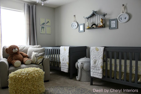 42 From Dwell by Cheryl - Gray and yellow nursery