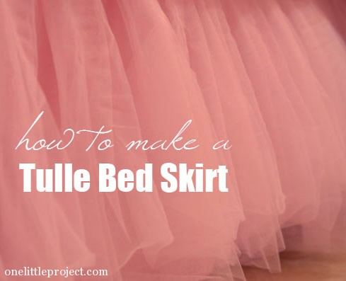 How To Make A Tulle Bedskirt
