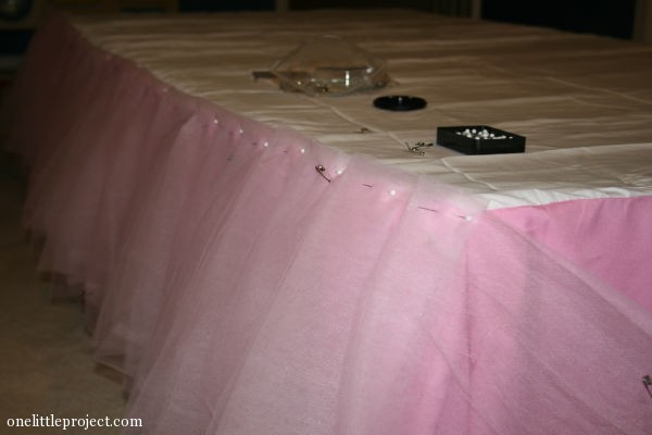 how to put a bedskirt on