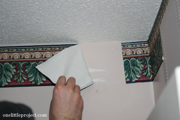 Removing A Wallpaper Border