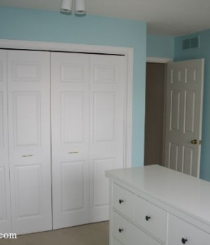 Progress: The kids' bedrooms are painted!