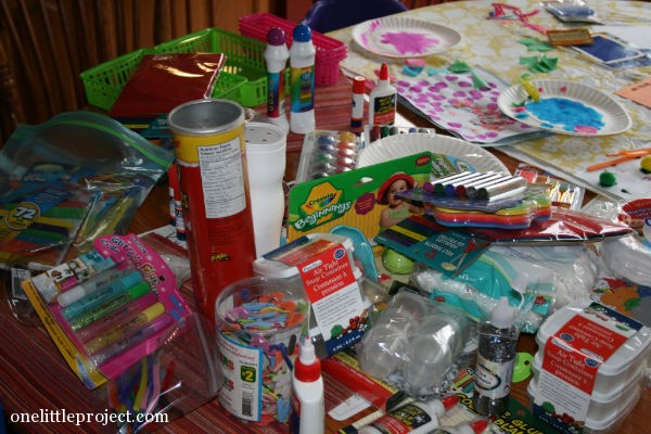 craft supplies everywhere