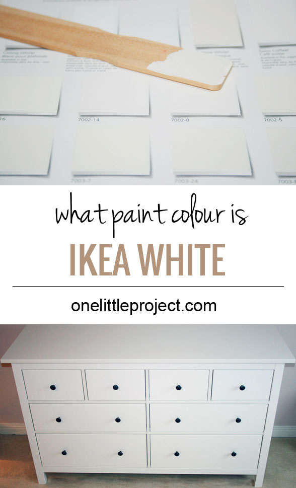 Ikea Poang Chair Oak Veneer ~ What paint colour is closest to IKEA Hemnes white? See photos of it