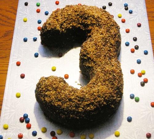 3rd birthday cake
