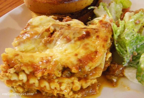 easy lasagna recipe for a crowd