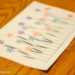 Flower craft printable three ways
