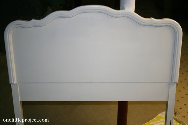 Painting Leah's Headboard, Part 2