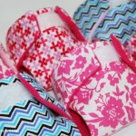 How to make cloth diapers for a baby doll