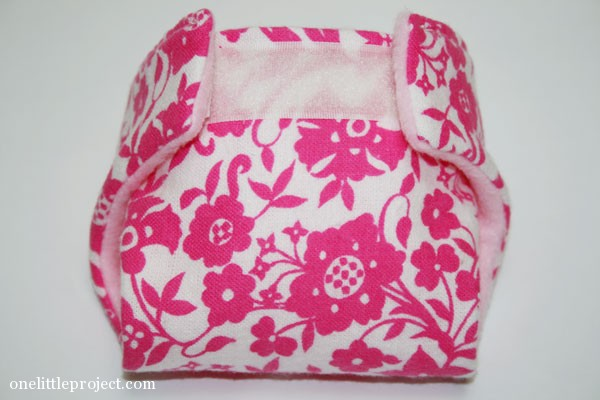 46e6acc82 How to make cloth diapers for a baby doll