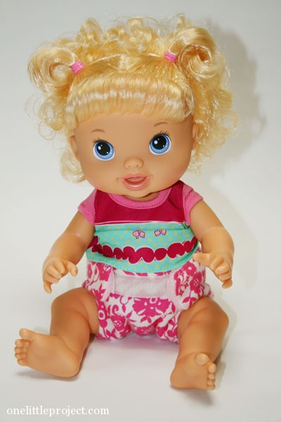 cloth diaper for baby alive doll