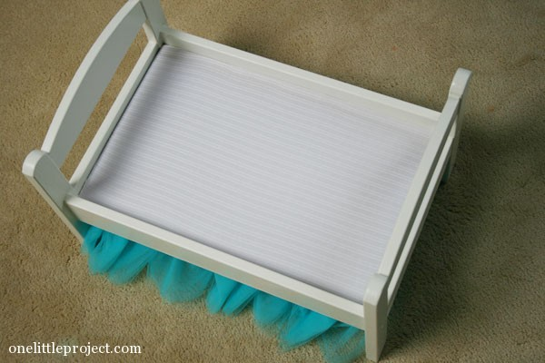 IKEA Duktig Doll's Bed tutu bedskirt