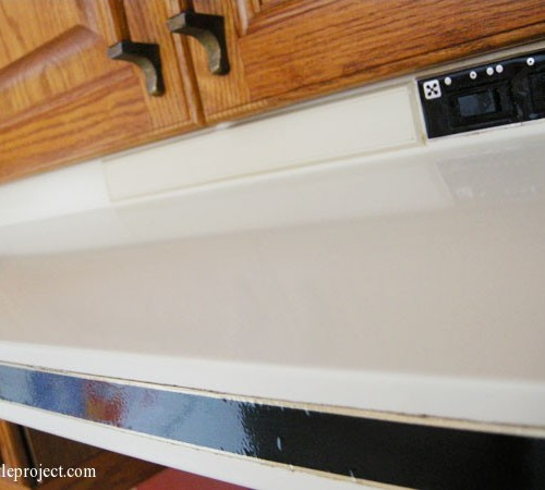 How to clean the gunk off a kitchen hood