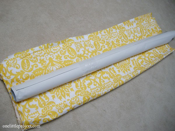 Premier Prints Amsterdam Corn Yellow Fabric and drapery lining