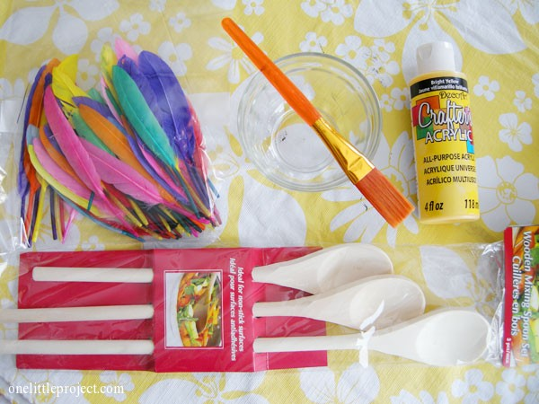 Easter craft supplies
