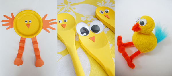 Easy Easter Crafts for Kids | onelittleproject.com