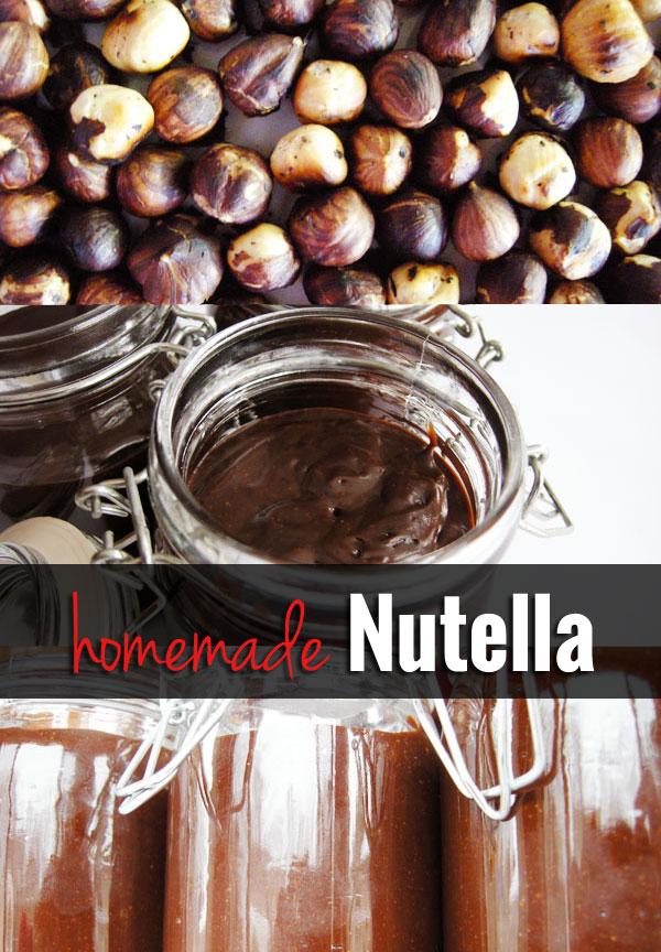 Homemade Nutella Recipe!