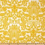 Curtains: Premier Prints Amsterdam Corn Yellow