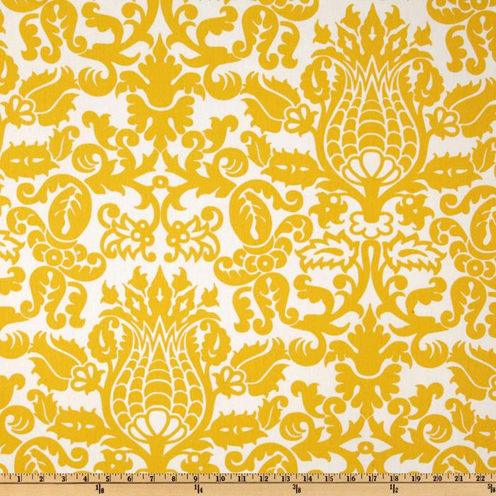Premier Prints Twill Amsterdam Corn Yellow