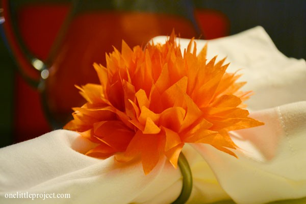 Simple Tutorial For How To Make Tissue Paper Flowers