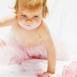 First birthday pictures: DIY Smash cake photo session