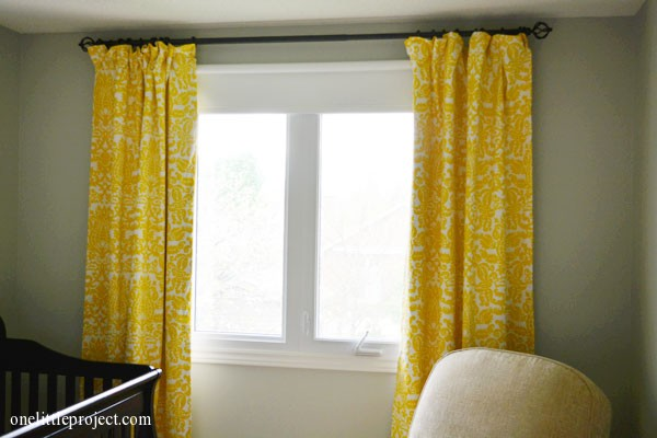 how to make blackout curtains tutorial. Black Bedroom Furniture Sets. Home Design Ideas