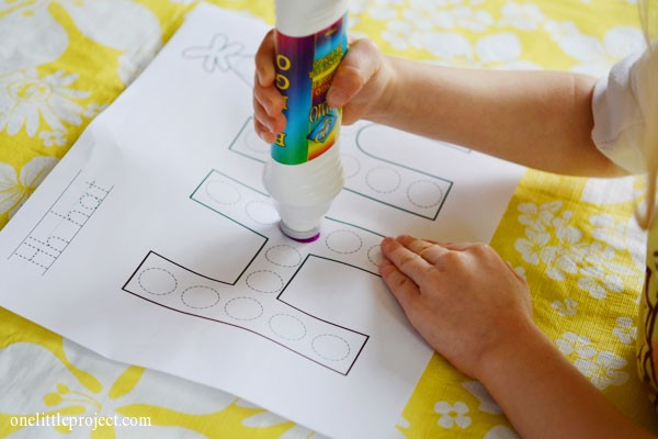 Two cute bingo dabber craft ideas