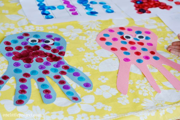 Two Cute Bingo Dabber Craft Ideas
