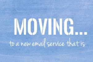 One Little Project is moving to a new email subscription service