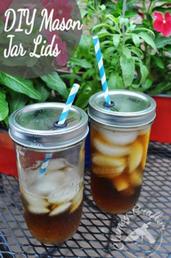 mason jar travel cups with lids