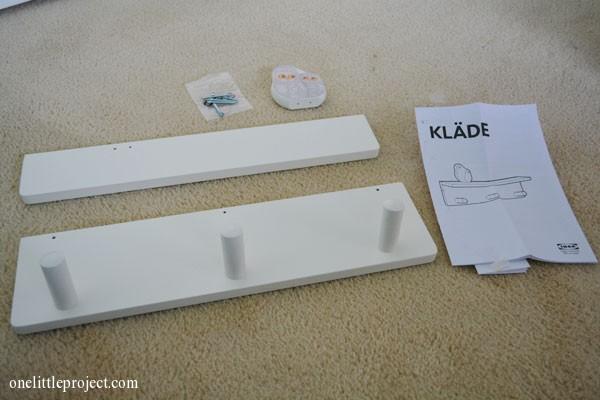 Ikea Klade materials
