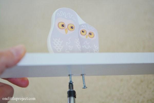 Ikea Klade owls