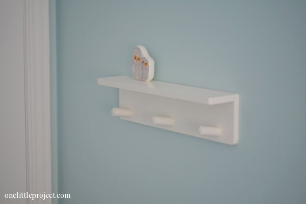 Ikea Klade Knob rack with 3 knobs