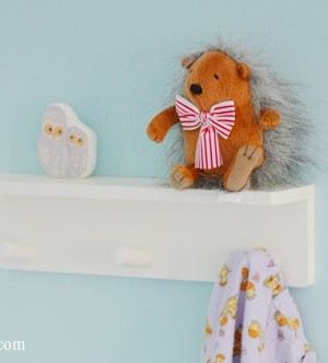 Ikea Klade knob rack with 3 knobs, a review