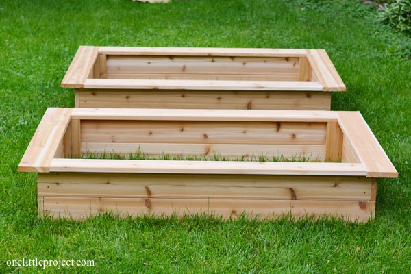 How to make a garden box | onelittleproject.com