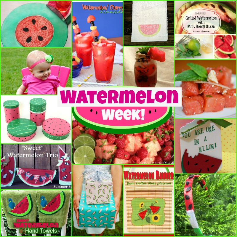 Watermelon Week Collage