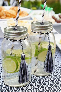 mason jars for graduation