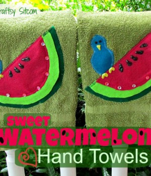Watermelon Week! Day 3: Watermelon towels, limeade and mojitos