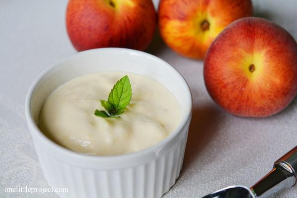 Peach Ice Cream Recipe - Cuisinart Ice Cream Maker