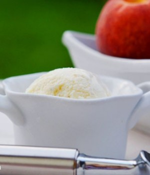 Peach Ice Cream Recipe – Cuisinart Ice Cream Maker