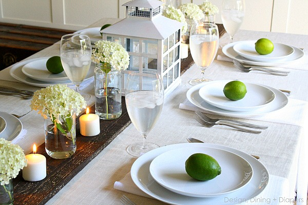 Summer Table with Limes