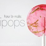 DIY Suckers: How to make Lollipops