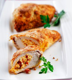 Chorizo stuffed chicken breast