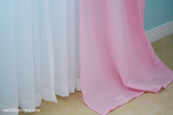 How to hem curtains and sheers