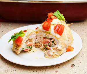 Italian-stuffed-chicken-breast
