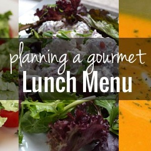 Potluck Ideas – Plan a gourmet menu so you have a cohesive meal!