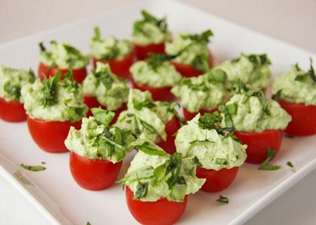 Tomato-Pesto-Bites