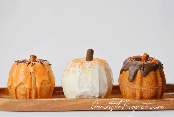 Vanilla Cake Mix With Pumpkin